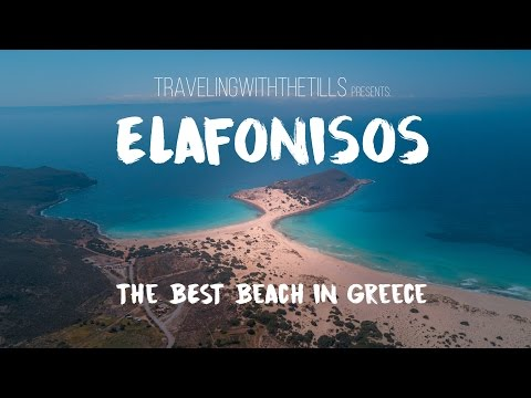 Elafonisos - Best Beach in Greece - DJI Mavic Pro