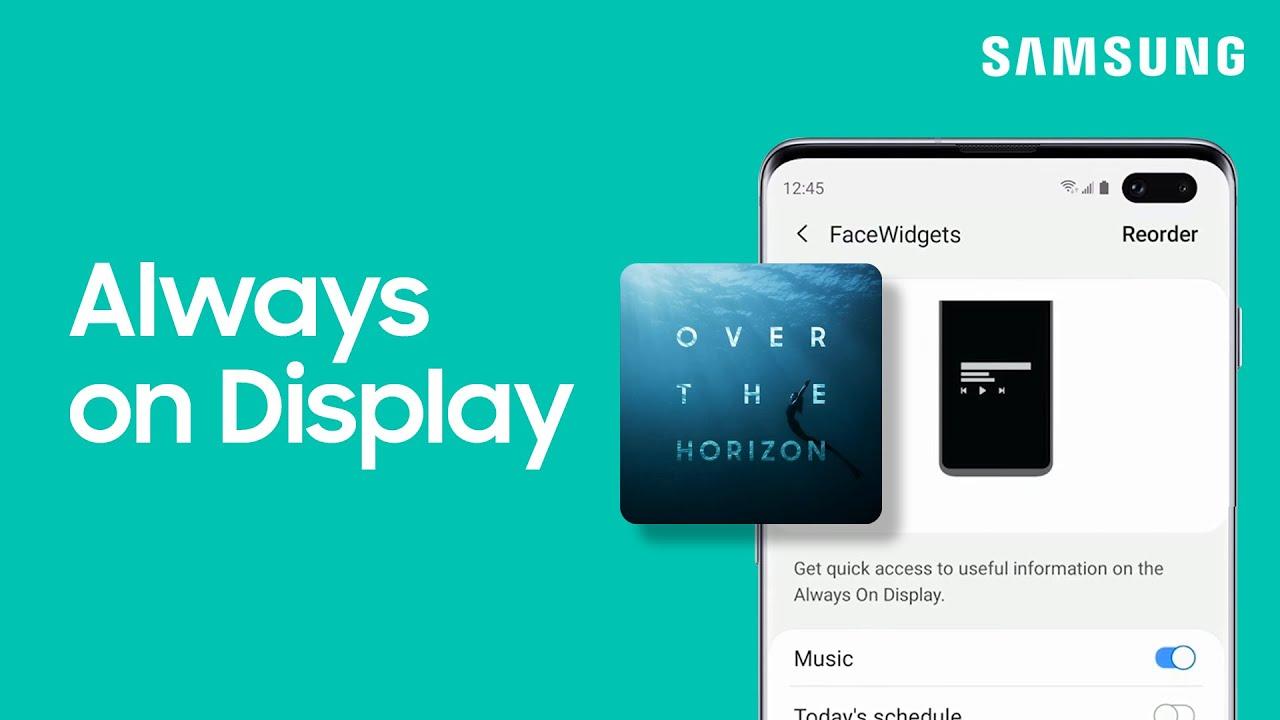 Set Always on Display on the Galaxy S10 | Tips