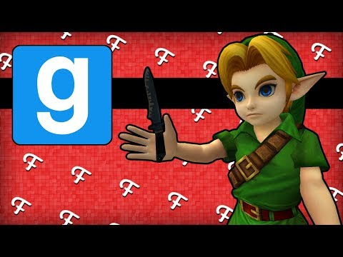 Gmod Murder: Dinner Table, Gnome Fortune Teller, Links Gift From Zelda! (Garrys Mod Comedy Gaming)