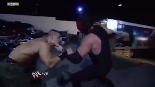John Cena and Kane brawl all over the arena: Raw