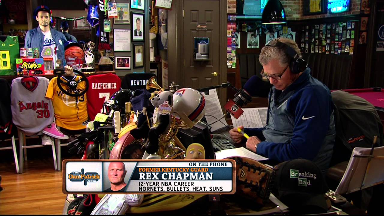Rex Chapman on how he became addicted to pain killers 03 15 2016