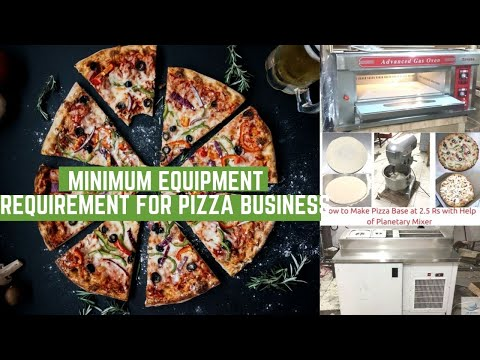 How To Start Pizza Business In India & Pizza Restaurant Equipment