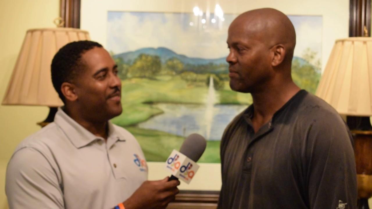 Dale Ellis at Otis Nixon Golf Tournament 5 22 2017