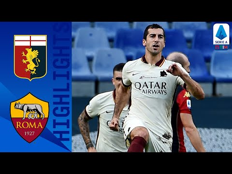 Genoa 1-3 Roma | Un super Mkhitaryan trascina la Roma | Serie A TIM