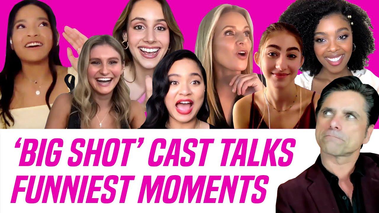 Big Shot Cast Talks Funniest Moments