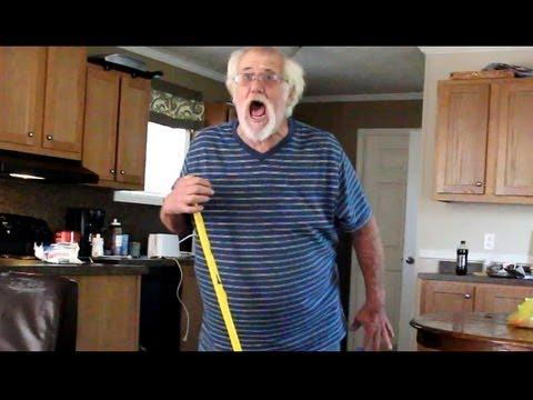 Angry Grandpa Gets Robbed! (PRANK)