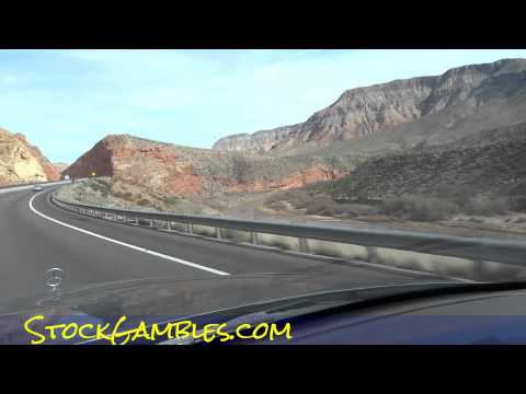 Entire State of Arizona Video to Utah End to End AZ to UT I15 Drive