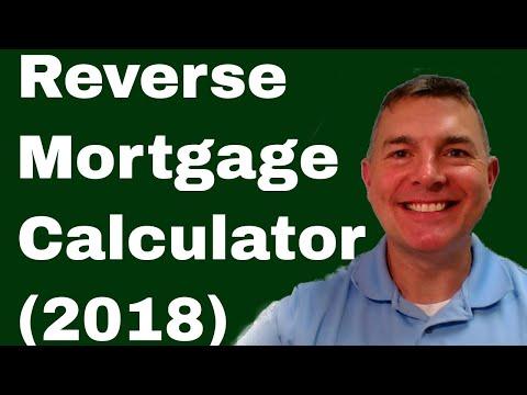 Reverse Mortgage Calculator (2018)