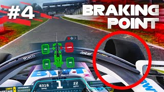 F1 2021 BRAKING POINT STORY MODE - TYRE FAILURE AT SILVERSTONE