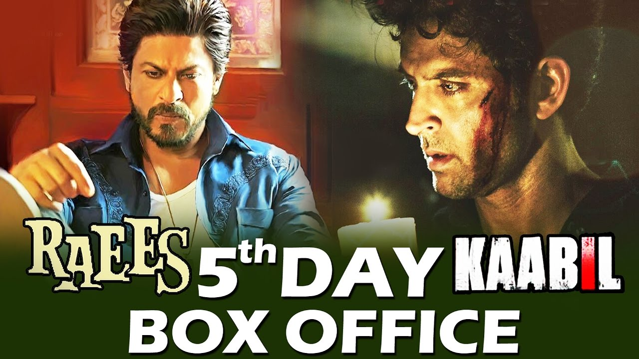 Kaabil 5th Day Box Office Collection