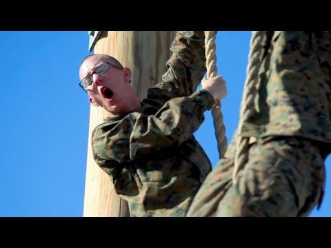 United States Marine Corps Recruit Training – Obstacle Course