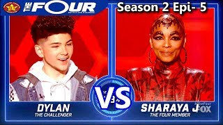 Sharaya J vs Dylan Jacob Rappers Battle She 39 s A Bitch The Four Season 2 Ep 5 S2E5