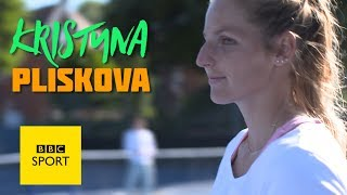 Wimbledon 2017: How to serve with Kristyna Pliskova - BBC Sport