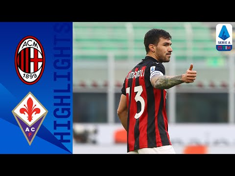 AC Milan Fiorentina Goals And Highlights