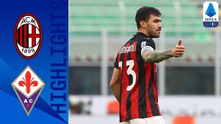 Milan 2-0 Fiorentina | Romagnoli & Kessie Score as Rossoneri take 3 points | Serie A TIM