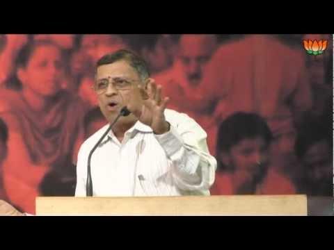 Speech of Sh. Swaminathan Gurumurthy on Globalization & Indian Society: 20.10.2012