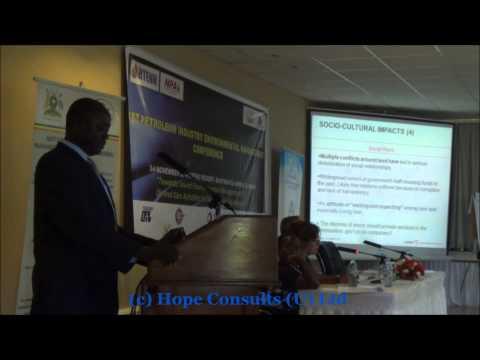 Munyonyo Conference Cordaid presentation Jeroen de Zeeuw og Martin Kwori