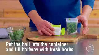 video product herb mill