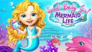 Play Fun Care Games - Sweet Baby Girl Mermaid Life - Fun Animal Care & Makeover Games For Girls