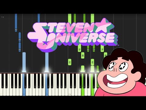 STEVEN UNIVERSE - Piano Medley Vol. #2 (Synthesia Tutorial)