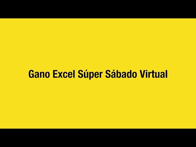 Gano Excel USA presenta Súper Sábado Virtual