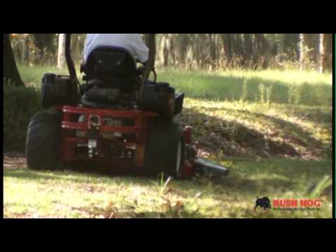 (part one: start up) bush hog® zero-turn mower owner operation and safty  video