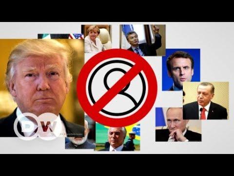 Follow the Hashtag: #BlockedByTrump | DW Deutsch