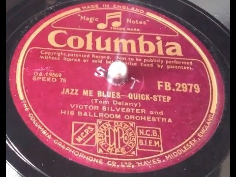 Victor Silvester and His Ballroom Orchestra - Jazz me blues Columbia HMV 102D Gramophone
