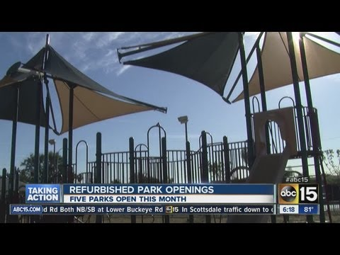 City of Phoenix to open five new parks
