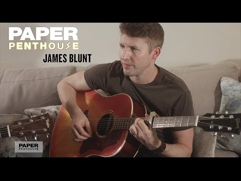 PAPER Penthouse: James Blunt sings