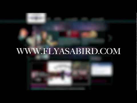 FLYASABIRD.com (CUSTOM WEBSITE DEVELOPMENT + LIVE RADIO + DIGITAL MUSIC DISTRIBUTION ) Webmercial