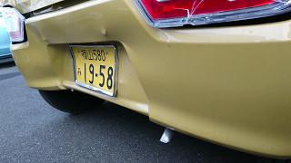 ワゴンR FX MH55S:追突事故3:新車がちゃん☆ガラになる。納車2ヶ月未満、走行2000少々なのに残念。自転車を轢かず「まだワゴンRで良かった」とも思える。