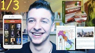 1/3 Regole per imparare l'italiano + Presentazione del Corso Pacco Motivazionale