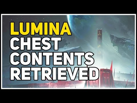 Shadowkeep Lumina Chest Contents Retrieved Destiny 2