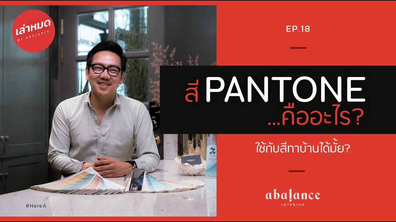 สี Pantone คืออะไร? แล้วใช้กับสีทาบ้านได้มั้ย? | เล่าหมด[อยากเล่า] EP.18 | HERE A