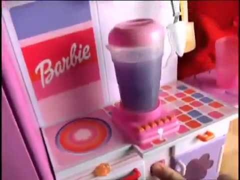 Barbie Mix n Magic Kitchen Commercial