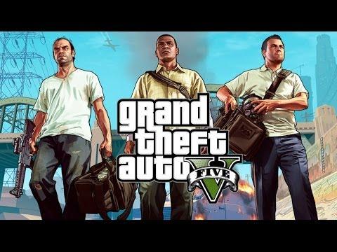 Grand Theft Auto 5: Ep10 - The Jewel Store Heist