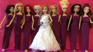 Anna Wedding Dress - Frozen Anna And Elsa Try Wedding Dresses On For Anna's Wedding Day - Mini Movie