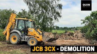 JCB 3CX Demolition
