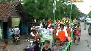 Drumband Anak anak live in Demak Sunatan Part 3