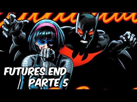 BATMAN Y SUPERMAN DEL FUTURO, EL HORRIBLE FUTURO DE LA LIGA DE LA JUSTICIA
