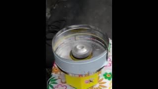 Пчелка New аппарат сладкой ваты(Новый компактный аппарат с подачей наверх от производителя аппаратов сладкой ваты