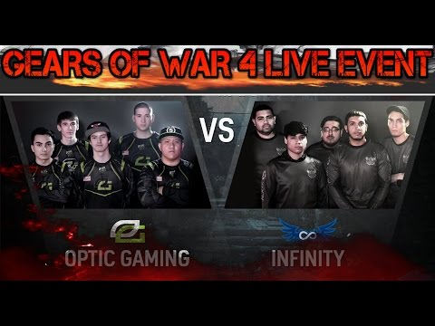 GEARS OF WAR 4  | eSPORTS  ESL | OPTIC GAMING vs INFINITY | ESCALATION (NEW GAME MODE)