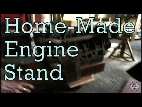 Home made engine stand - The Retro Lab