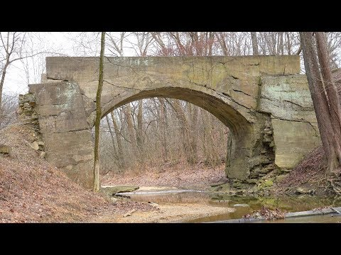 Crooked  Creek  Phantom  Bridge,  Madison,  Indiana