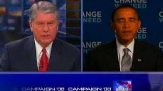 Sen. Barack Obama Talks with Eyewitness News