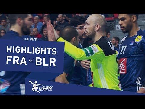 Highlights | France vs Belarus | Men's EHF EURO 2018