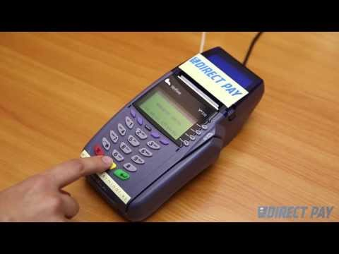 Видео Терминал verifone vx 680 user