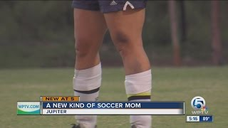 A new kind of soccer mom