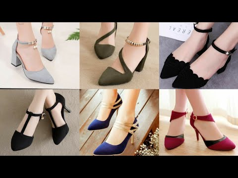 Top Class Low Heel Women's Party Wear Pumps Sandals And Shoes Designs Collection 2020